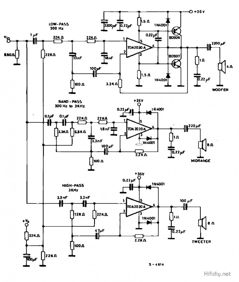 一个电子三分频电路