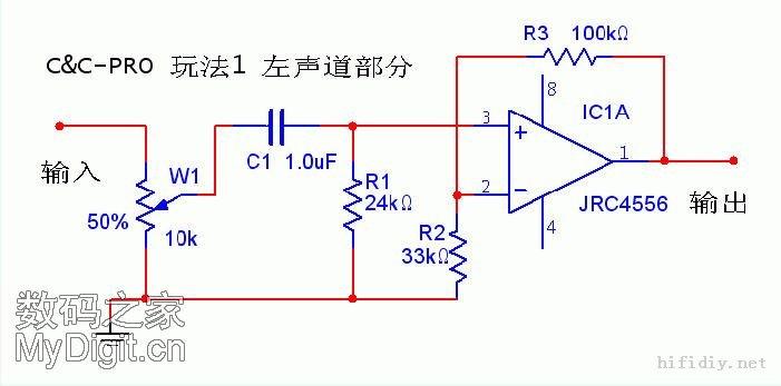 超级4合一耳放电路介绍 目前的国产、进口耳机放大器,相当一部分是由运放(OP)组成,比如3千元的美国耳放RA1,由1片JRC4556为核心,国内外非常流行的47耳放,已成为入门DIY者的首选电路,还有很多OP+BUF(缓冲扩流)的耳放效果也很不错,易于制作。如此多种的电路,运放芯片,听感也各不相同,有没有办法用很少的投入,能做出多种耳放呢? 下面就介绍1种,集4种电路于一身的4合一耳放,非常适合初学者制作、打磨。更换不同的运放,声音性格也有所不同。