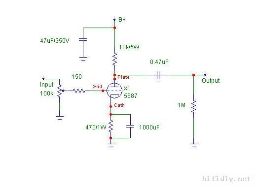 6sq7gt电子管,想做一台前级
